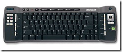 Teclado Windows Media Center