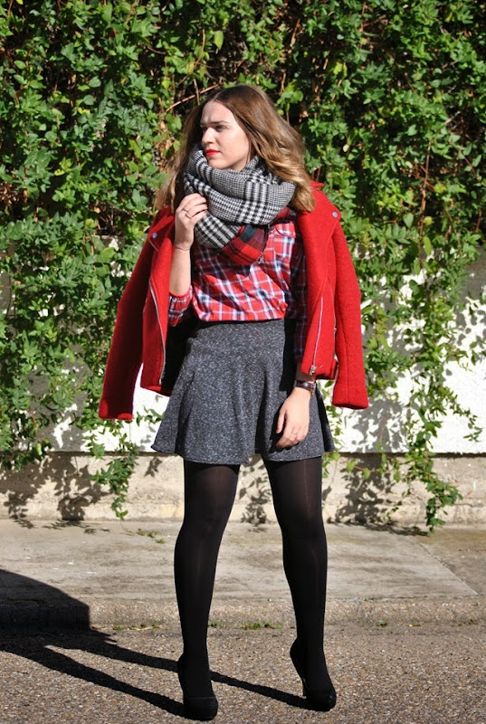 red tartan style in madrid 9