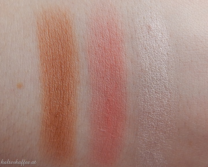 Isadora Face Sculptor Swatches