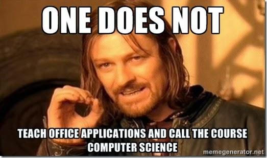 computer science teacher fun with meme generator