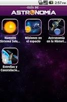 Screenshot of Guia De Astronomia