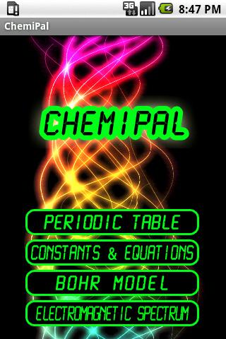 ChemiPal- screenshot