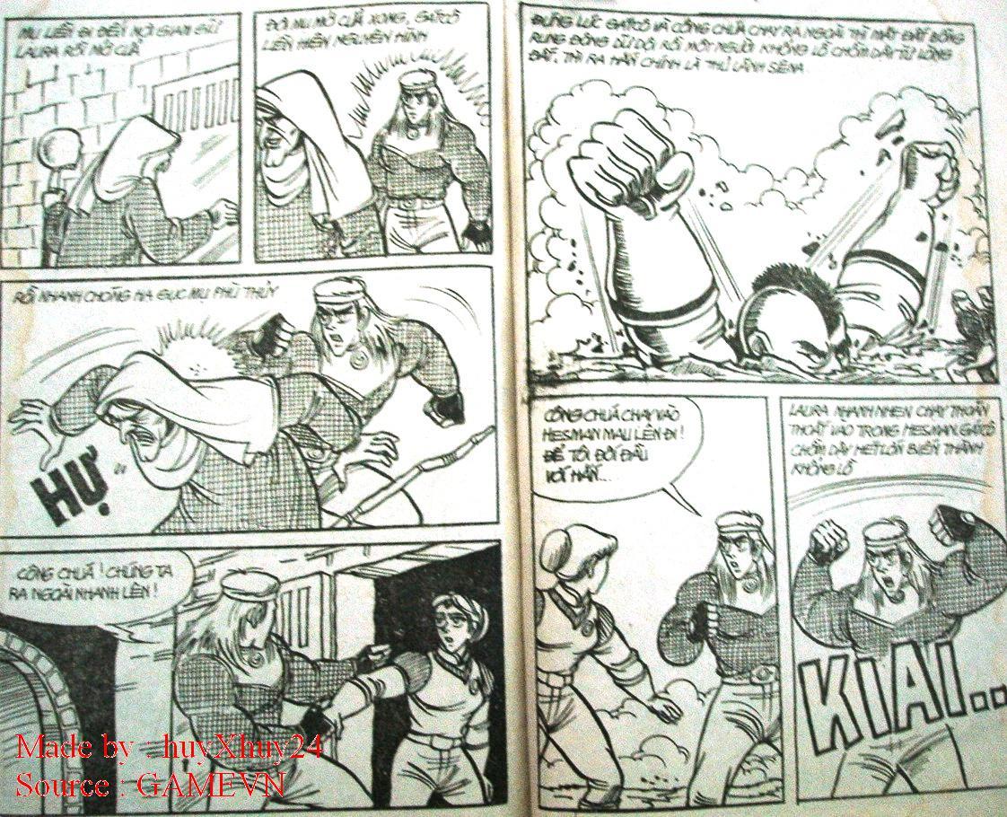 Dũng Sĩ Hesman chap 26 trang 31