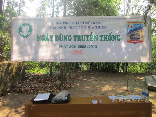 TraiDungThuaThioem2013 09 BHD GĐPT Thừa Thiên tổ chức Trại Dũng năm 2013