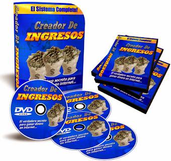 CREADOR DE INGRESOS [ Curso ] – El verdadero secreto para ganar dinero en internet a través de cinco métodos probados