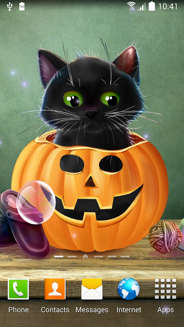 Cute Halloween Live Wallpaper Android Apps on Google Play
