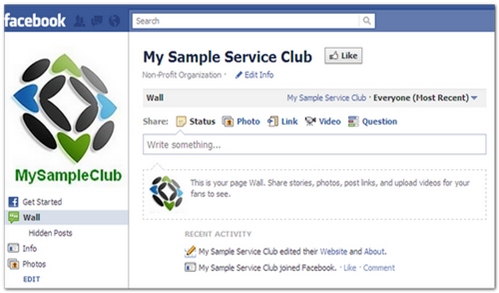 Put Your Club Online: First Steps–Create a Facebook Presence