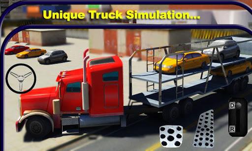 カートランスポータートラック運転手2