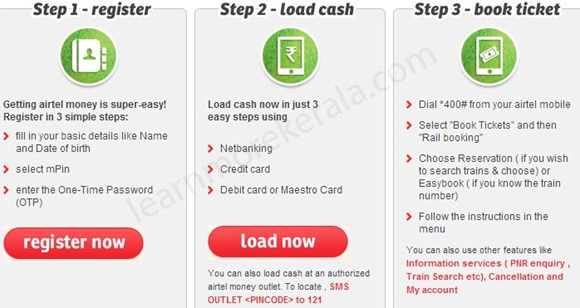 airtel money ticket