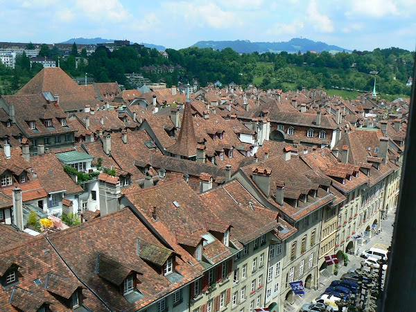 Obiective turistice Elvetia: Bern din catedrala