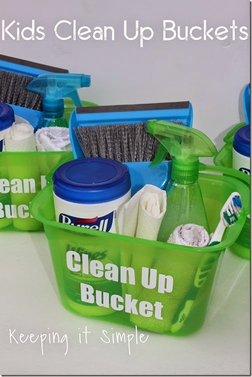 #ad Individual-Kids-Clean-Up-Buckets #PurellWipes