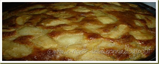 Torta di mele e pere con farina semintegrale e zucchero di canna (10)