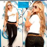 Angelica Jaramillo y Sofia Jaramillo Modelando D'Axxys Jeans Foto 4