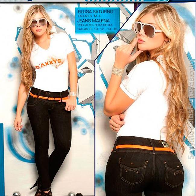 Angelica Jaramillo y Sofia Jaramillo Axxys Jeans Foto 4