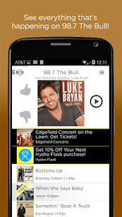 98.7 The Bull- screenshot thumbnail