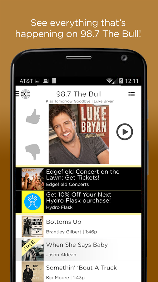 98.7 The Bull- screenshot