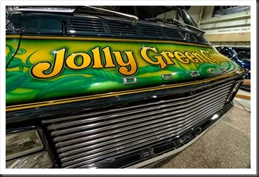 "1975 Dodge Van ""Jolly Green Giant"" at Motorama"