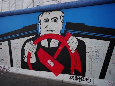 Gorbaciov la Berlin