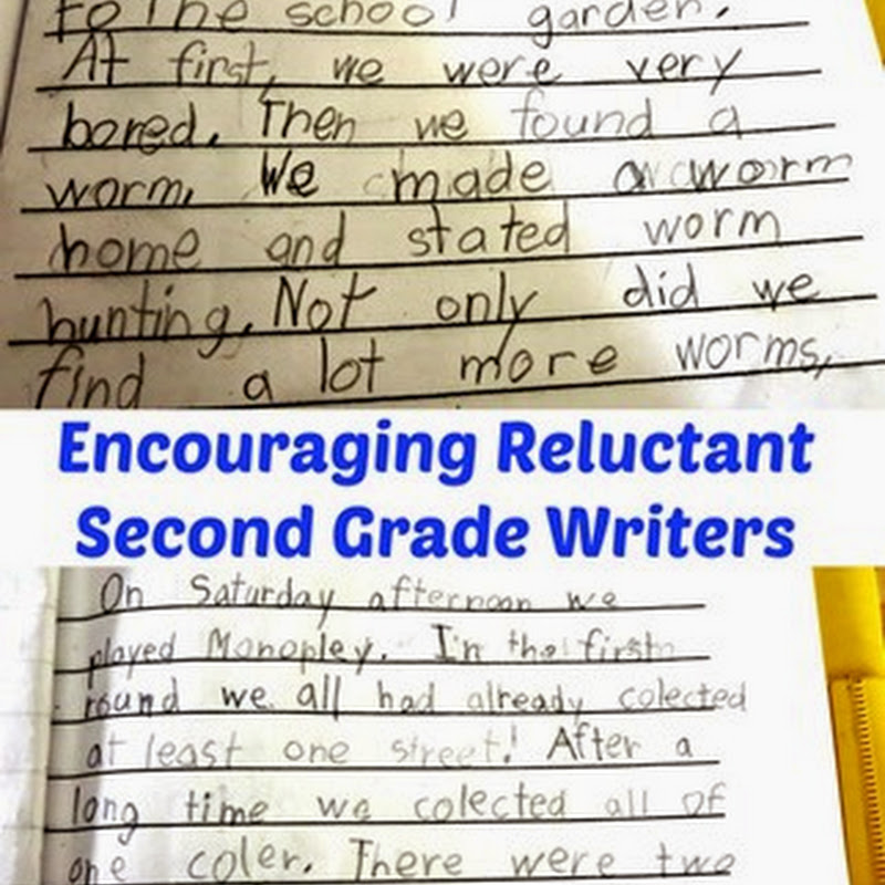 Encouraging Reluctant Second Grade Writers