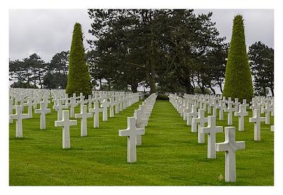 Westliche Landungsstrände - Colleville sur Mer - Soldatenfriedhof