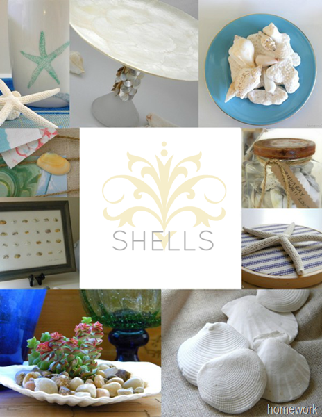Shell Crafts & Decor via homework