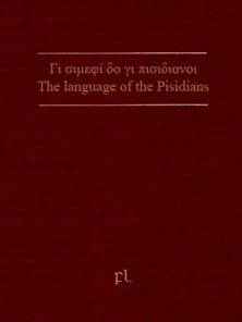 The language of the Pisidians Cover