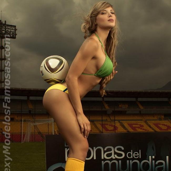 Sofia Jaramillo Las Monas Del mundial Foto 5