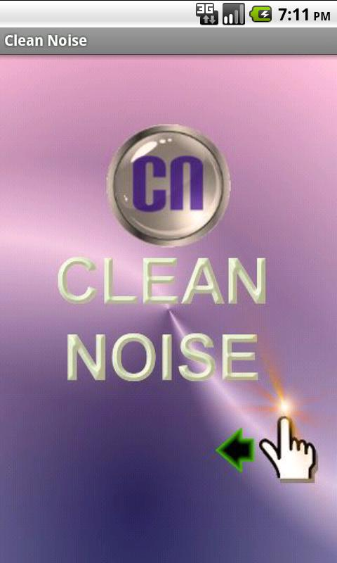 Clean Noise FREE - screenshot