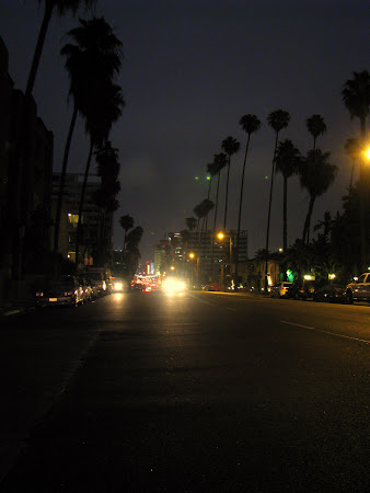 Imagini Los Angeles: Hollywood BLDV cand am iesit din zona turistica