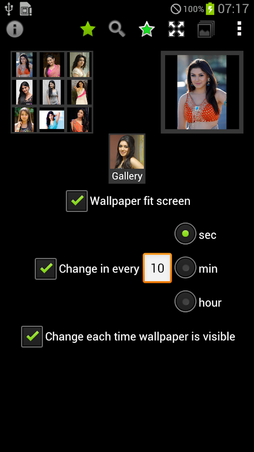 Tamil Actress LWP - screenshot