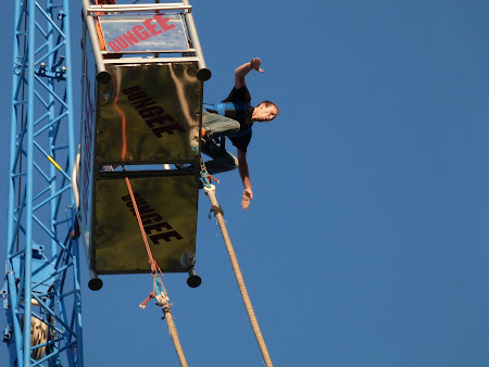 Bungee jumping la Sziget