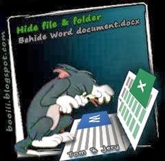 tom-jery(Hide-file&folder-betom & jery(Hide file & folder behind Word Document.docx & Excel Document.xlsx)