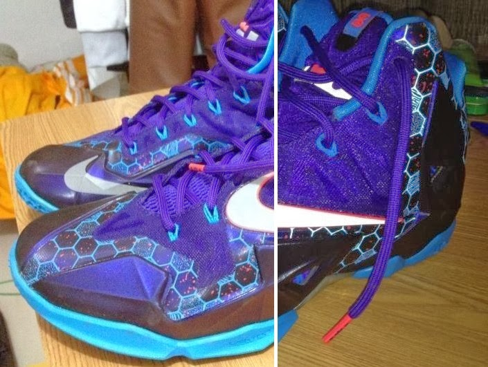 online store d4fbd d8892 Nike LeBron XI 8220Summit Lake Hornets8221 Official Release Date ...