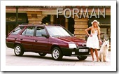 SKODA FAVORIT STATION WAGON - SKODA FORMAN
