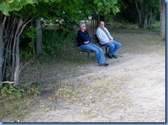 7165 Restoule Provincial Park - Kettle Point Campground - walk to Restoule Lake beach - Janette & Bill