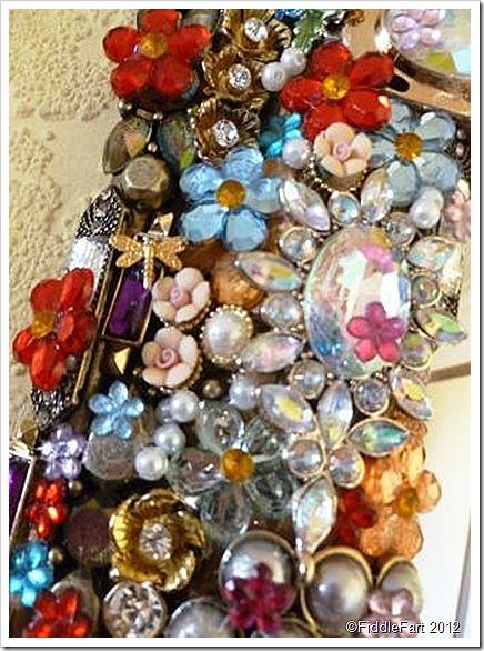 Upcycled Jewellery Mirror