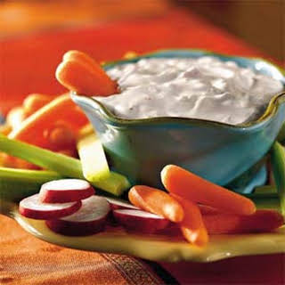 Quick Creamy Vegetable Dip.