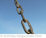 'Chain Linkage' photo (c) 2006, Max Klingensmith - license: http://creativecommons.org/licenses/by-nd/2.0/