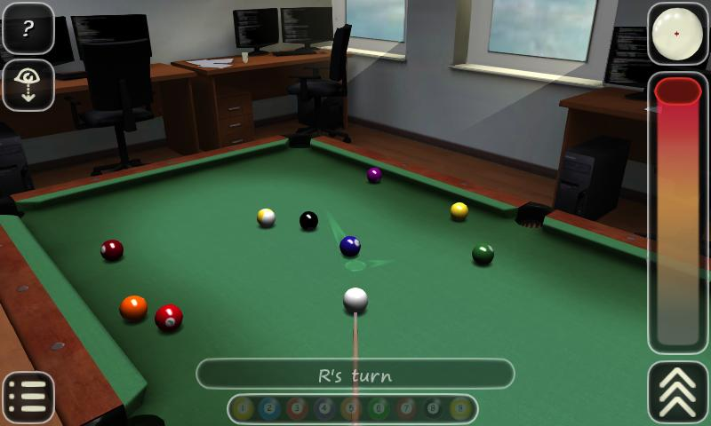 3D Pool game - 3ILLIARDS Free - screenshot