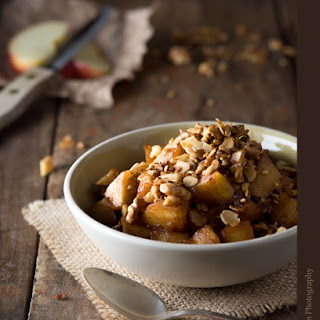 Stovetop Apple Crisp