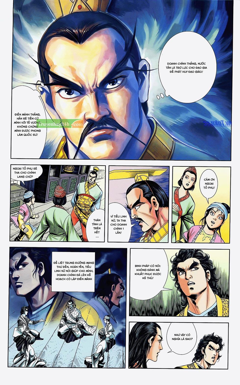 Tần Vương Doanh Chính chapter 22 trang 5