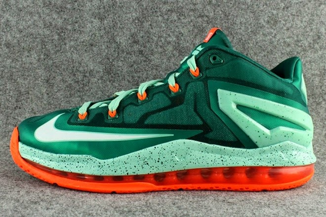 4b1cbe4d0e21 Upcoming Nike LeBron 11 Low 8220Biscayne8221 Release Date ...