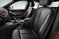 New BMW 3 Series: Front seats Sport Line (10/2011)