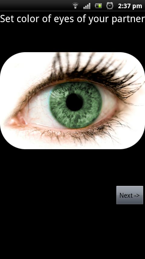 Baby eye color predictor android apps on google play