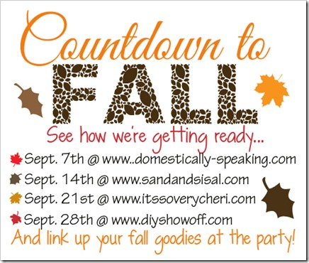 Countdown to Fall Party