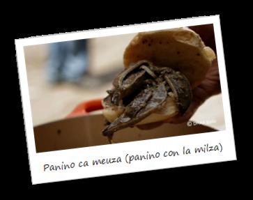 Panino ca meuza (Panino con la milza)