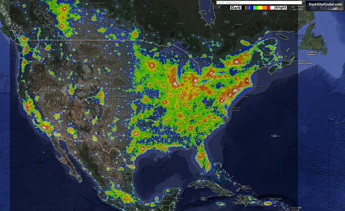 North_America_Light_Pollution_Map