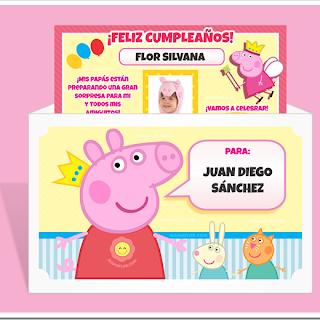 Decoracion Cumpleanos Peppa Pig Para Imprimir