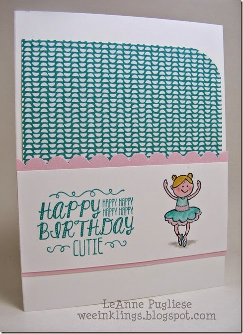 LeAnne Pugliese WeeInklings Sweet Stuff Birthday Stampin Up