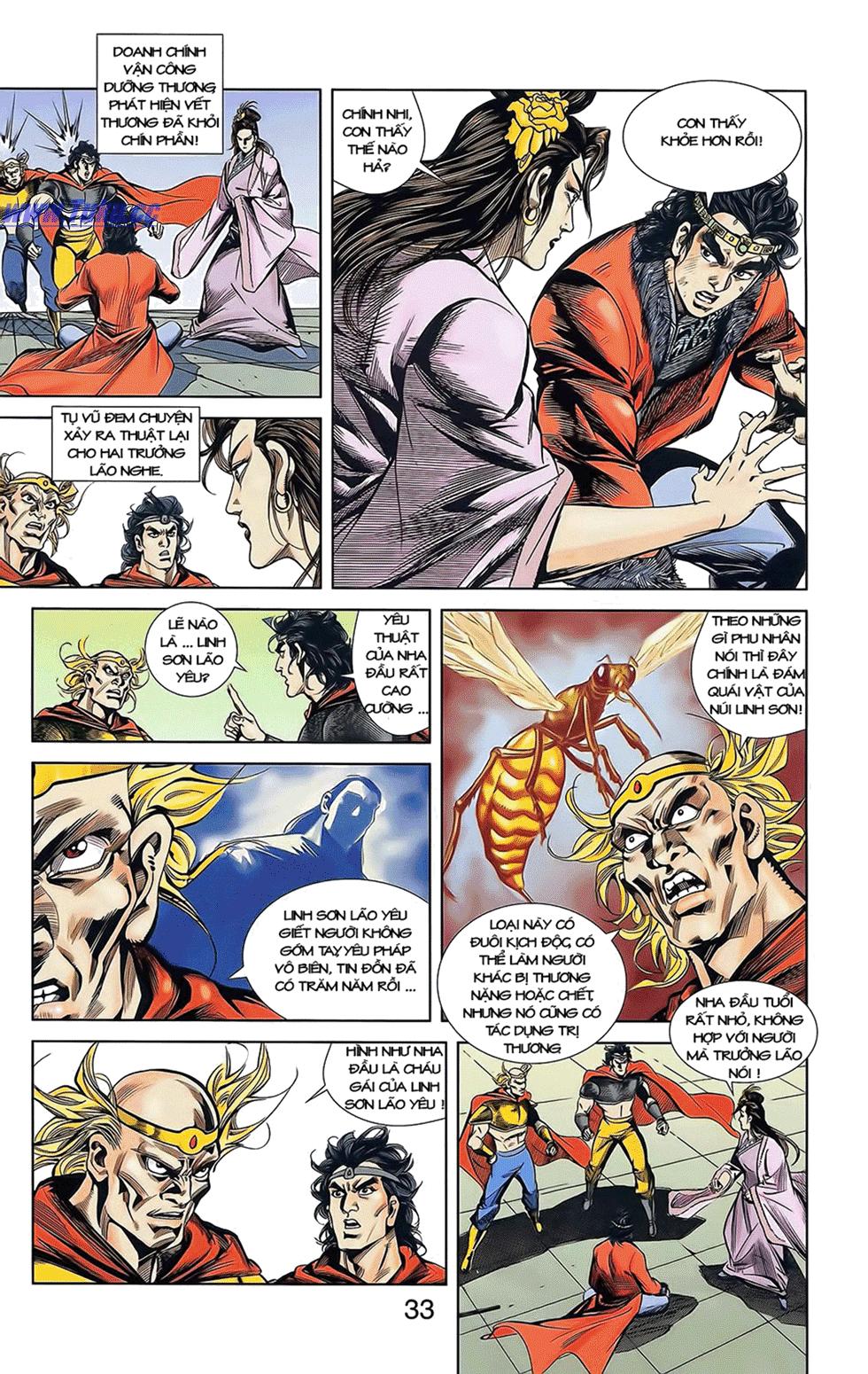 Tần Vương Doanh Chính chapter 12 trang 23